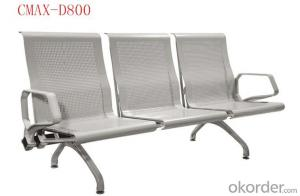 3- Seater Modern Stainless steel Waiting Chair design CMAX-D800