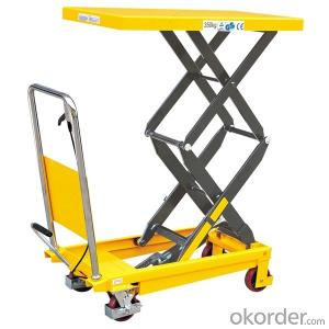 CE Certisfied Double Piston High Lift Scissor High Lift Truck