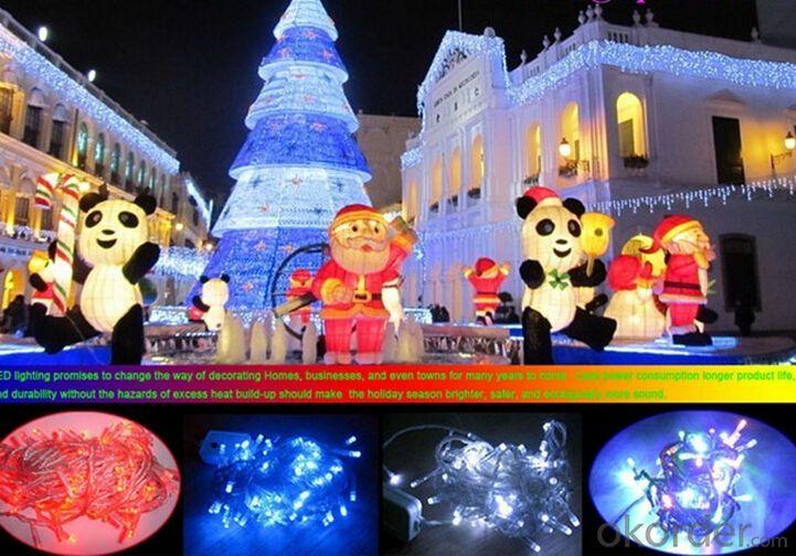 Holiday Lighting LED Christmas Train Lights Motif Lights Manufacturer