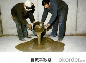 Cementitious Self-leveling Floor Mortar for concrete