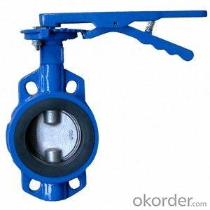 Ductile Iron wafer butterfly valves DN50