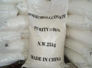 Sodium Gluconate is suitable to apply in high temperature season