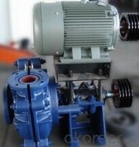 Horizontal Centrifugal Lime Slurry Pump  with High Quality