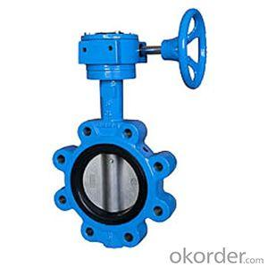 Ductile Iron wafer butterfly valves DN100