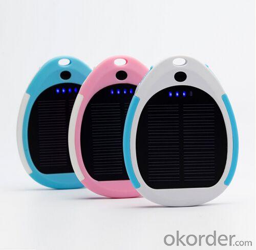 Solar Power Bank 3000mAh Sport Design Portable