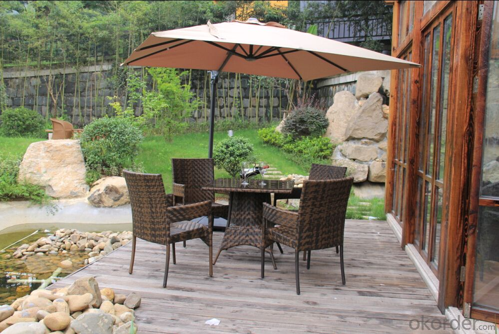 2015 Hot sale poly rattan outdoor garden furniture