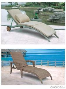 Beach Sun lounger,Aluminium Sun Lounger,Rattan Sun Lounger