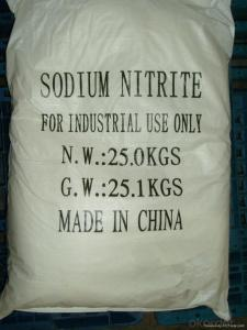 Sodium Nitrite 99% with the Best Price & High Quality