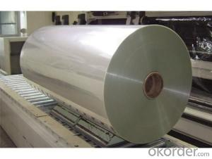 PET film with aluminium foil application