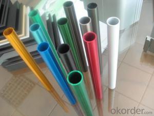 Coated Aluminium Round Tubes for Furniture