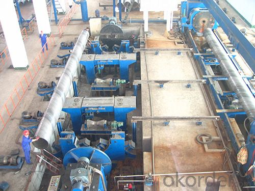 Straight Seam Submerged-Arc Welded Pipe Flat Head Chamfering Machine