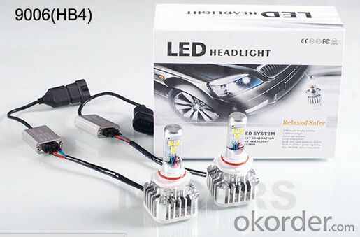 LED Car Headlight 9005 9006 Auto Lighting System 12V 24V