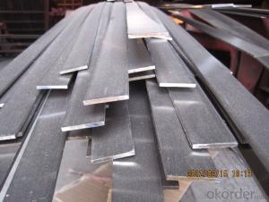 high quality flat bar GB Q235 or wide falt bar