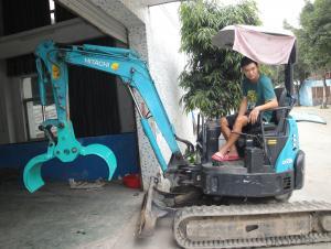 KOBELCO 30 excavator grapple excavator parts