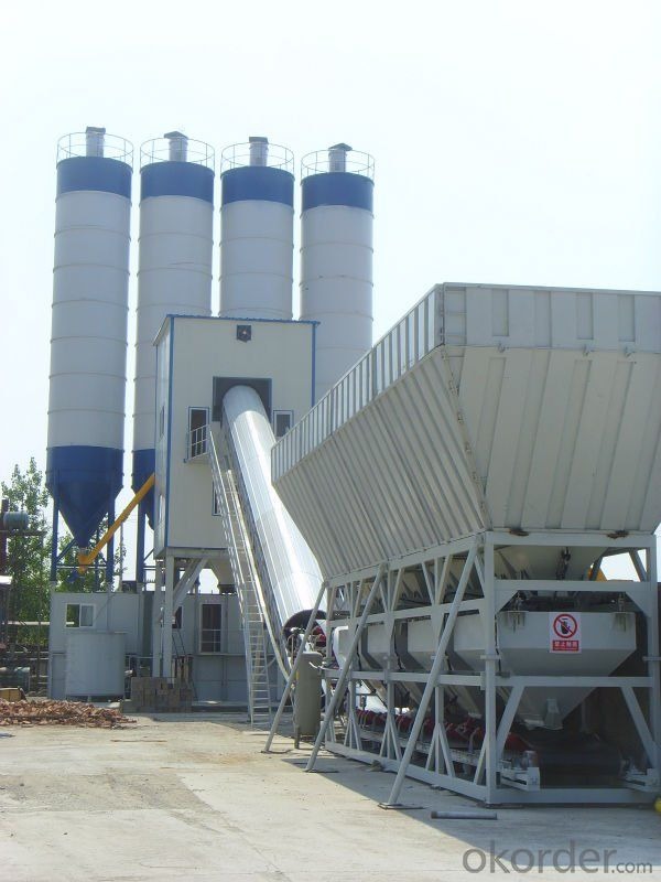 Modular concrete mixing plant Environment Friendly