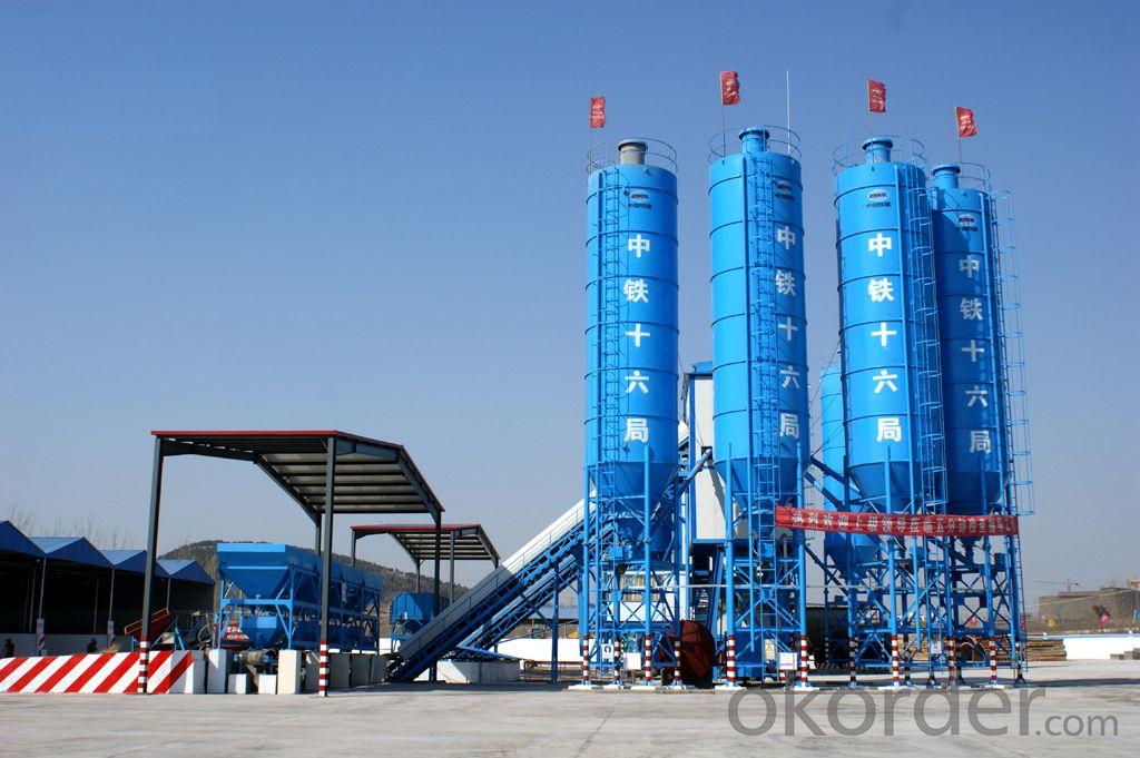 HZS180 Concrete Batching Plant / ISO & CE