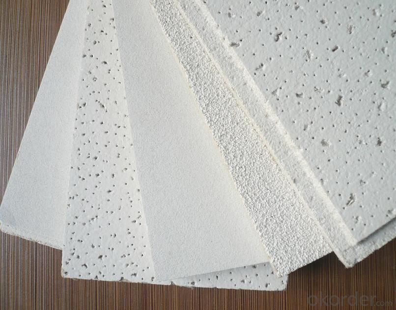 Mineral  Fiber Ceiling  Tiles  for  Decoration