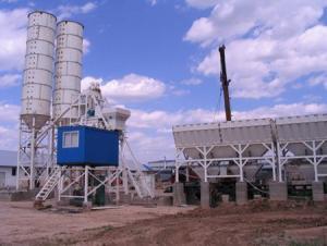HZS75 Concrete Batching Plant / ISO & CE