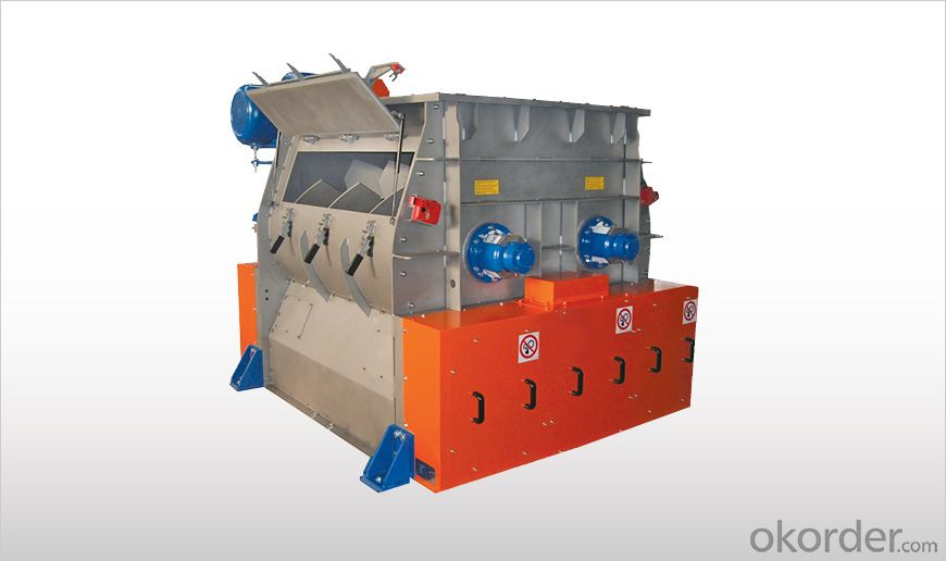 Batch-Type Twin Shaft Paddle Mixers WTS