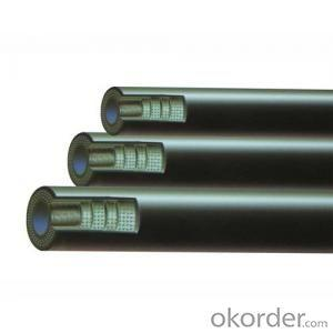Wire Braided Hydraulic Hose High Pressure DN13