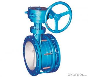 Butterfly Valves Ductile Iron  Wafer Type DN600