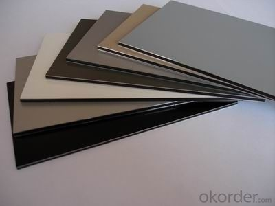 ACM  aluminum building exterior wall cladding with good price