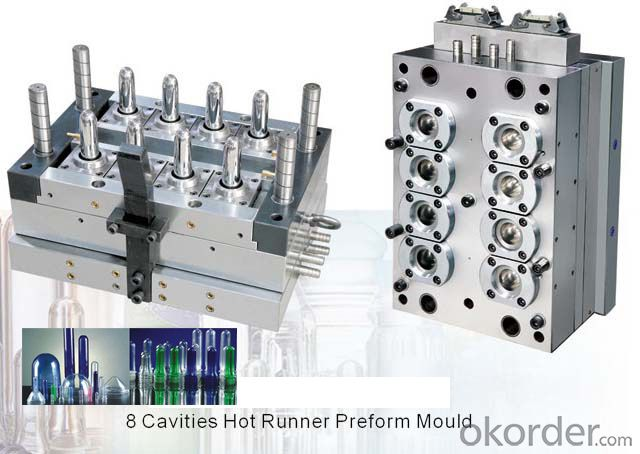 Injection Preform PET Mold High Quality 12 Cavity