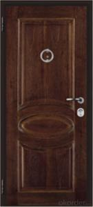 Italian Steel Wooden Armored Entry Door