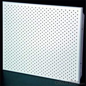 Metal ceiling perforated aluminum clip in ceiling