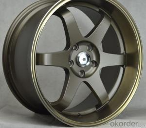 Latest Design Alloy Auto Rims with latest design TUV approved