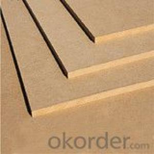 Plain MDF Board 25x1830x3660mm Light Color