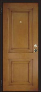 Steel wooden armored entry door Italian style