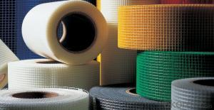 self adhesive fiberglass mesh tape 65g 9*9/inch