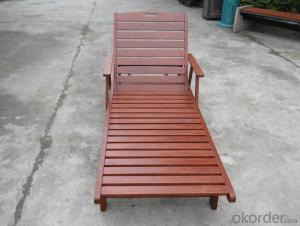 Outdoor lounge chair with Bsst Quality Wood