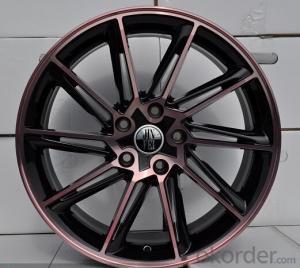F9004 20inch Full Polish Auto Aluminum Alloy Wheel Rim