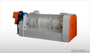WAM Batch-Type Single Shaft Mixers with Bomb-Bay Discharge WBHP - WBHT