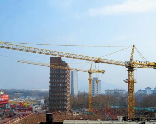 TC5020 tower crane  /  QTZ125 tower crane