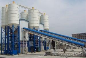 Practical HZS90 low cost concrete batching plant small concrete batching plant