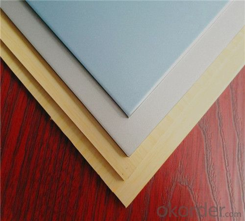 TOBOND silver surface acp/painting alucobond  panel/ pvdf aluminium composite panel