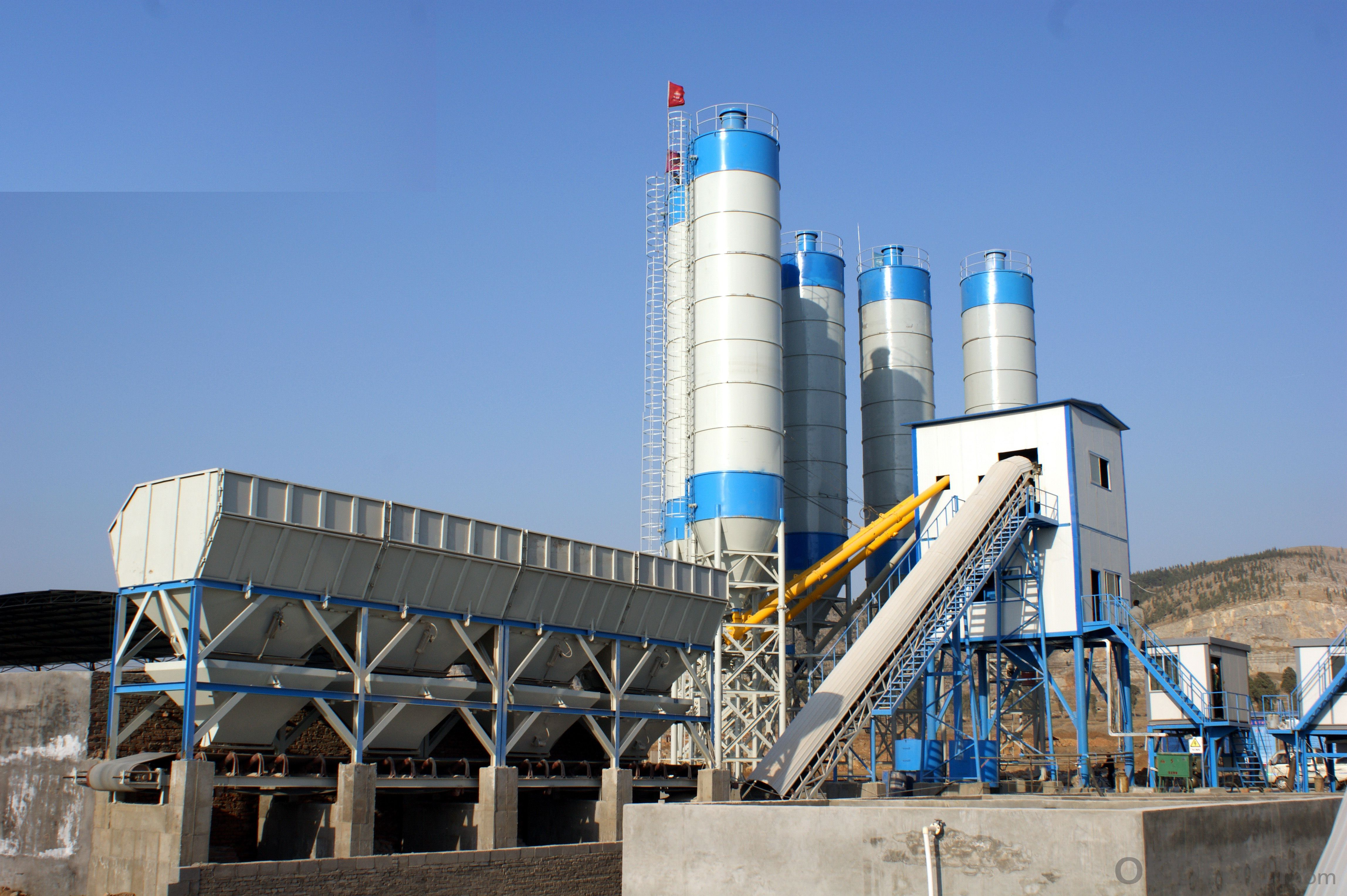 Cement Batching Plant : Buy hzs concrete batching plant iso ce price size