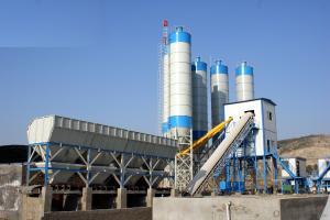 HZS100 Concrete Batching Plant / ISO & CE