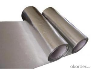 Aluminum  Solvent-Based Tape with Liner Jumbo Roll For Promation