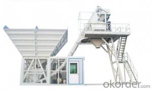 Module Type Mobile Concrete Batching Plant 80m3/h hiqh quality