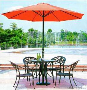 Aluminum Wicker Rattan Outdoor Garden Table Set