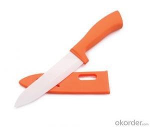 Art no. HT-TS1011 Ceramic knife set with acrylic stand