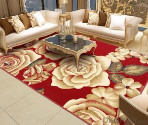 Jacquard PP Wilton Area Rug with high density