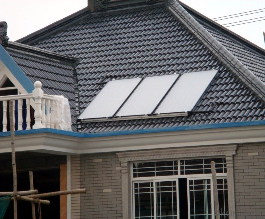Sunshore balcony type flat plate solar thermal collectors