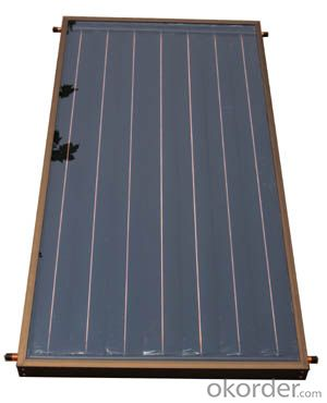 FILM flat plate solar thermal collector bluetec absorber plate