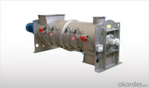 Continuous Single Shaft Mixers WAH