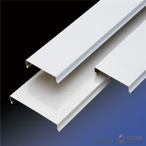 Aluminium Metal Ceiling, C-Shaped strip Panel
